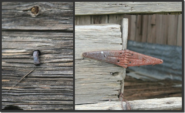 Rustic  collage