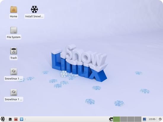 snowlinux-xfce