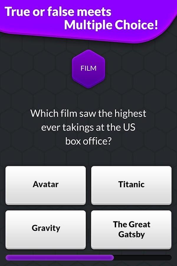 Screenshots of True or False: Quiz Battle for iPhone