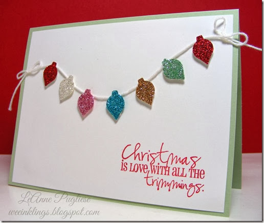 LeAnne Pugliese WeeInklings Merry Monday 93 Christmas Card