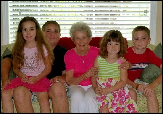 01b - Mothers Day - Grandmom and the Great Grands