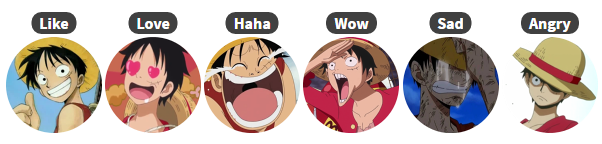 Luffy Reactions