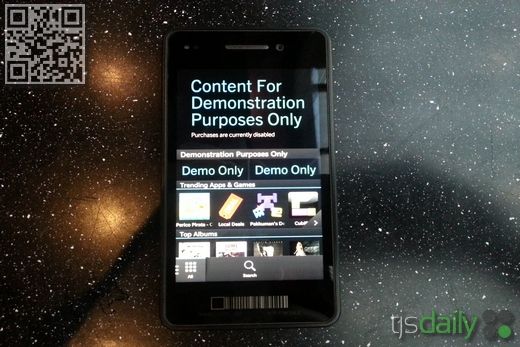 blackberry 10 video display