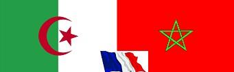 Orange-Mariage d'un soldat et d'une gendarme sous les drapeaux algérien et marocain dans France drapeaux+alg%C3%A9rien+et+marocain+mariage+soldat+et+gendarme+fran%C3%A7ais