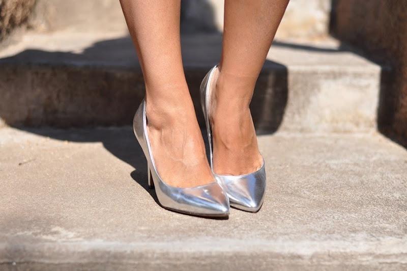 sarenza-shoes-outfit-fashionblogger-scarpe-argentate