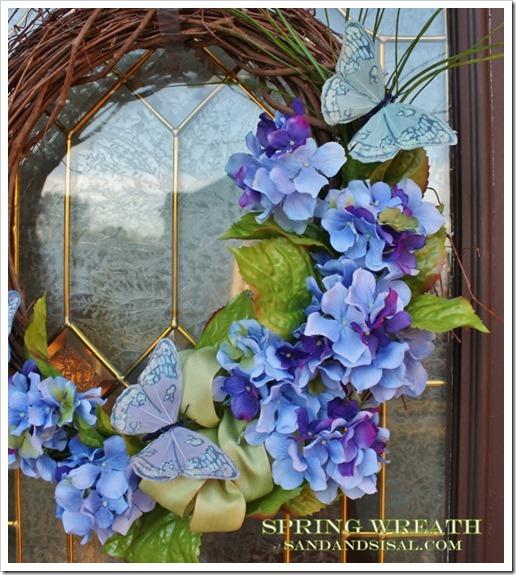 Spring Wreath - Sand & Sisal