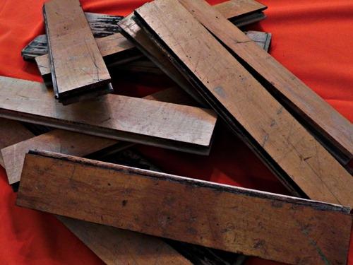 scrap stage floor slats