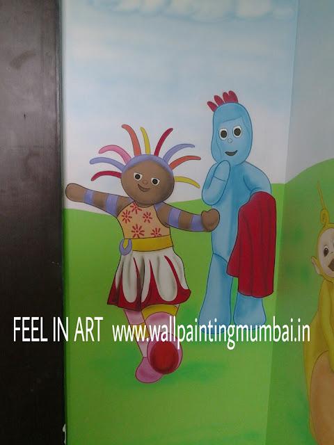 PLAY SCHOOL WALL PAINTING JUHU  /MUMBAI