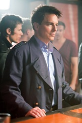 John Barrowman is Captain Jack Harkness in Torchwood Miracle Day
