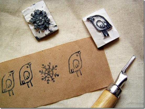 homemade handmade stamps 3