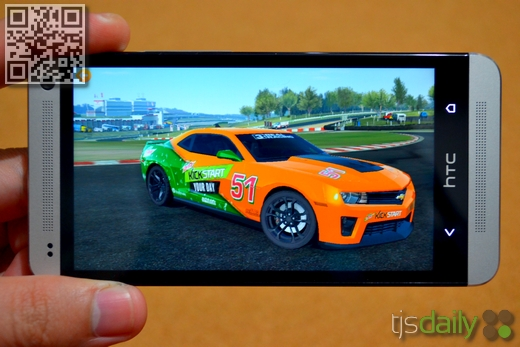 HTC One Review Gaming EA Real Racer 3
