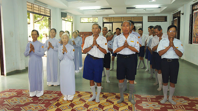 DSC06270 Lễ Hiệp kỵ   Lễ Huý Nhật Cư sĩ Sáng lập viên GĐPT Việt Nam   Tâm Minh Lê Đình Thám