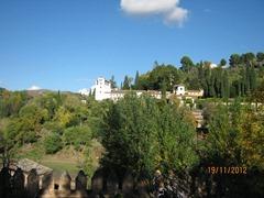 Альгамбра  дворцовый комплекс и крепость. Летняя резиденция