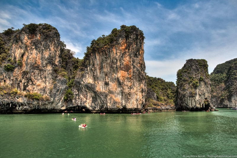 Canoeing in Thailand scaled