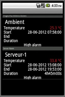 ThermoTrack Webserve- screenshot thumbnail