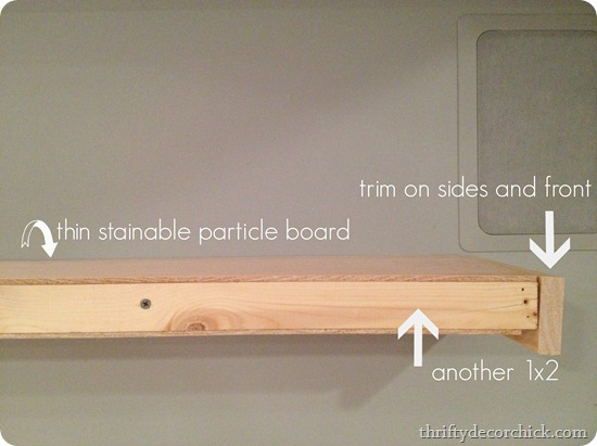 building floating shelves how to