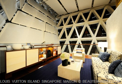 Louis Vuitton Island Singapore Private Lounge
