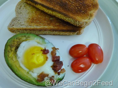 Apr 14 Avocado egg and Flax toast 008