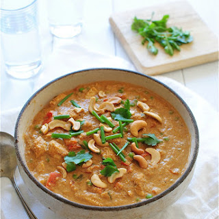 Creamy Indian Cashew Chicken