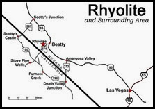 MAP - Rhyolite Road Map