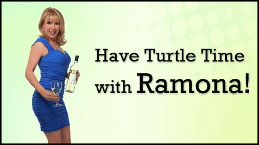 turtle time with Ramona