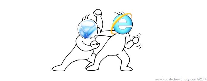 Solution: Internet Explorer crashes when debugging #
