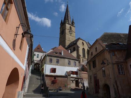 Obiective turistice Romania: catedrala evanghelica Sibiu