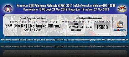 Tarikh Terkini Keputusan Spm 2012 Ahmad Radhi Zikri Aziz