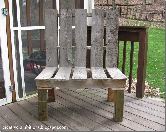 pallet bench 6a