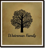 Waterman Family Tree Logo Museum Mat