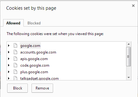 Chrome-34-Remove-website-cookies