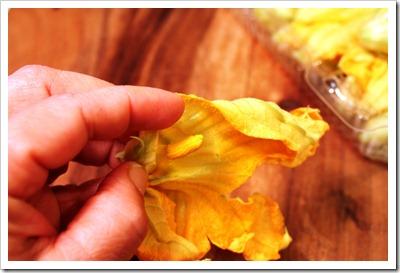 Squash Blossoms Quesadillas | Quesadillas de Flor de Calabaza
