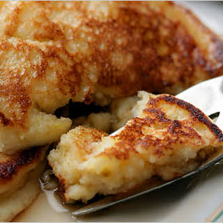 Fluffy & Healthy Cottage Cheese Pancakes.