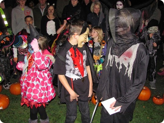 Childrens best fancy dress competition