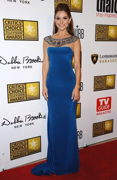 Maria Menounos Arrivals Critics Choice TV