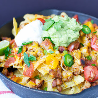 Chipotle Chicken {Copycat} And Nachos