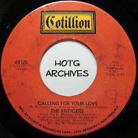 Enticers Calling For Your Love Storyteller