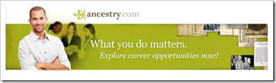 ancestry.com寻求工作候选人