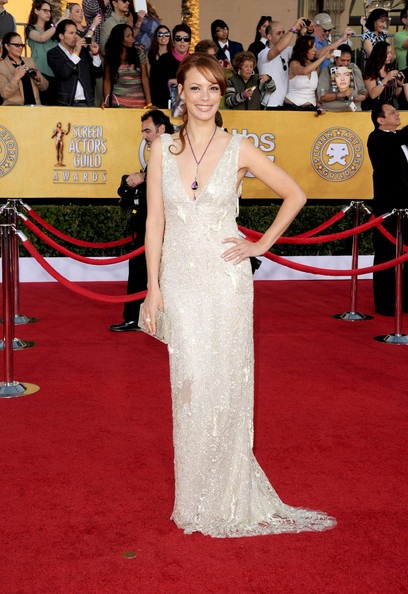 Berenice Bejo arrives at the 18th Annual Screen Actors Guild Awards