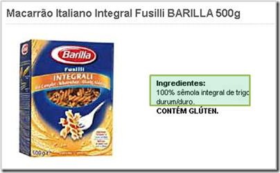 barilla%252520100integral%25255B13%25255D Cuidado! Nem todo alimento com alegação de ser integral contém SOMENTE carboidratos INTEGRAIS