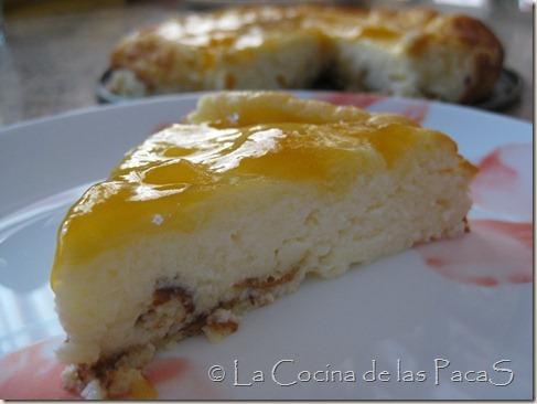 tarta de queso con confitura de melocotón (1)