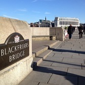Blackfriars to Victoria Embankment Gardens 1