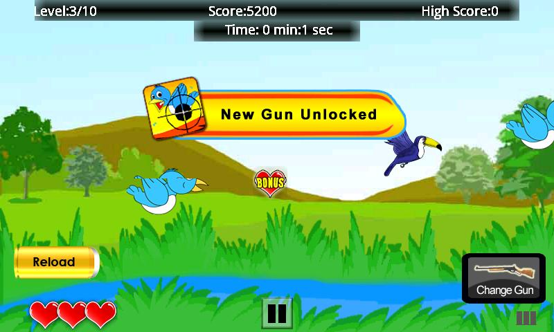 Bird Hunting Free- screenshot