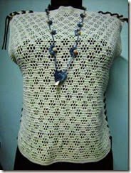 crochet top and accessory 3