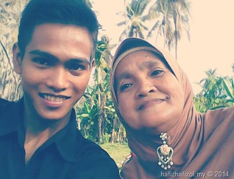 selfie dengan mak