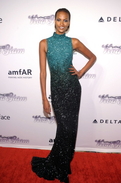 Yasmin Warsame 4th Annual amfAR Inspiration Gala New York