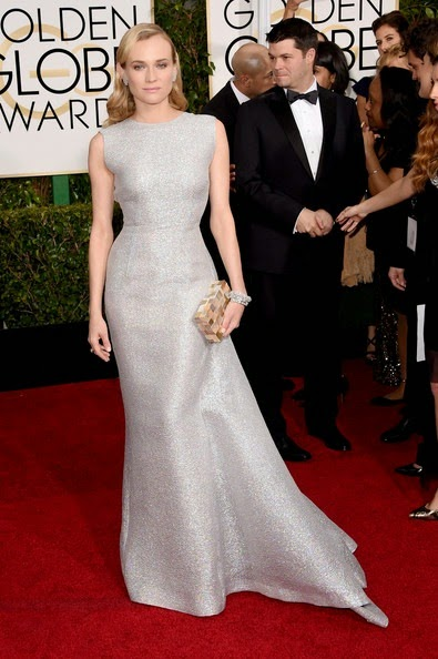 Diane Kruger attends the 72nd Annual Golden Globe Awards