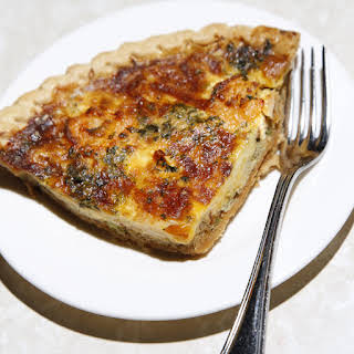 Crab and Shrimp Quiche.