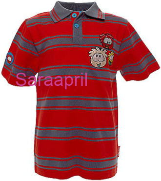 Club Penguin Polo Shirt For Kids :)