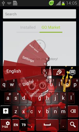 玩個人化App|可爱的恶魔键盘免費|APP試玩